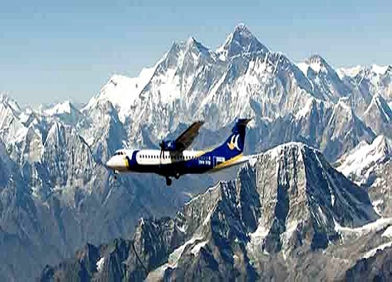 Everest Mountian Flight