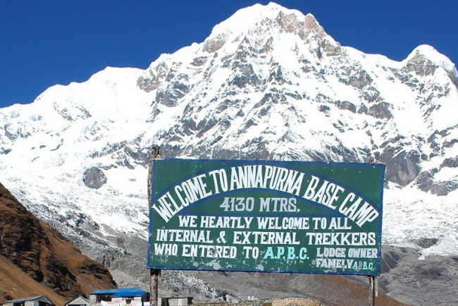 annapurna base camp trek  days