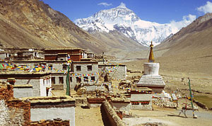 tibet rombuk monstry